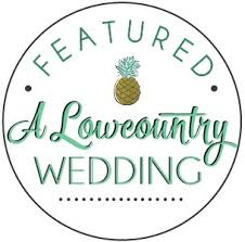 a low country wedding badge