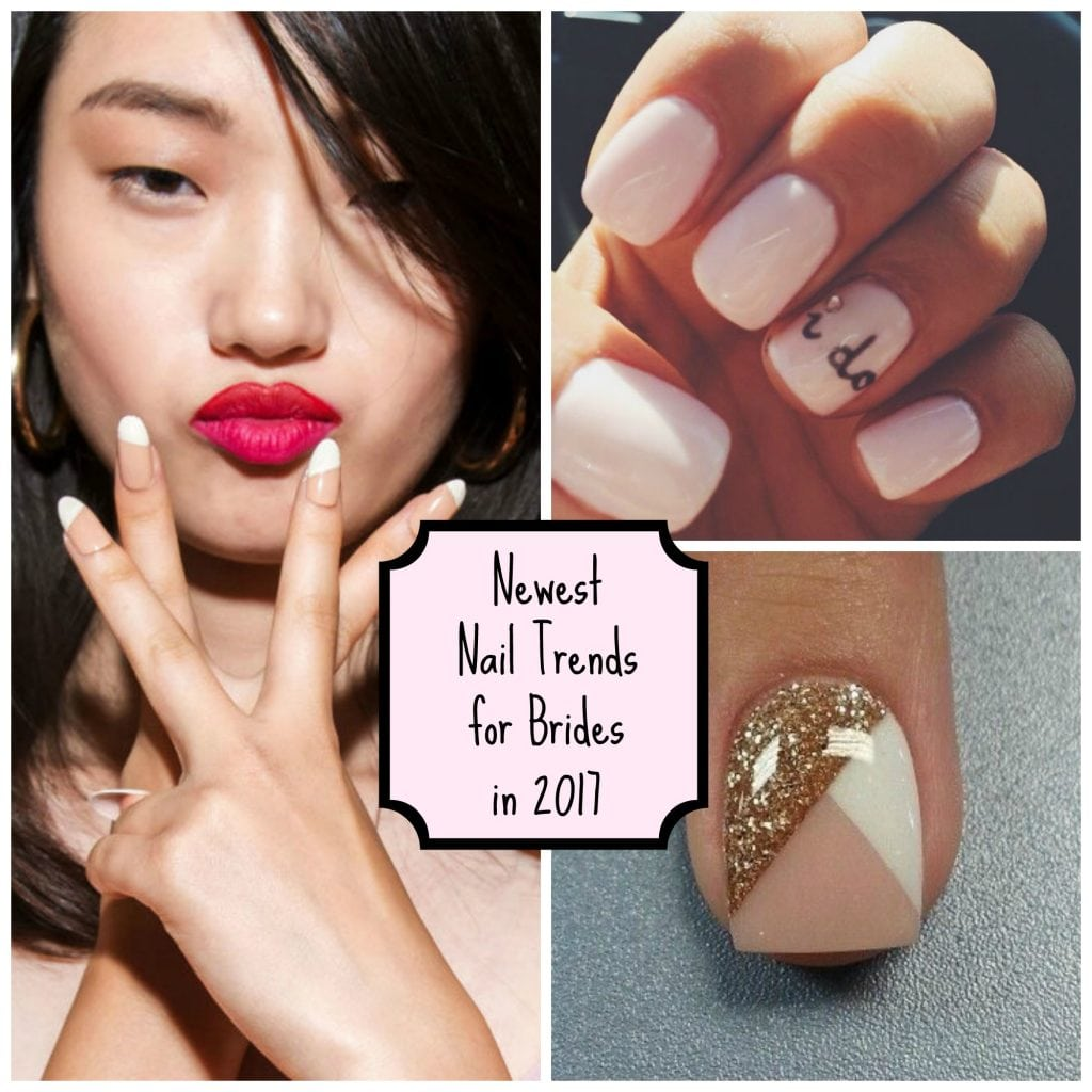 Bridal Nail Trends for 2017 #NegativeSpaceNails #BridalNeutralNails ...