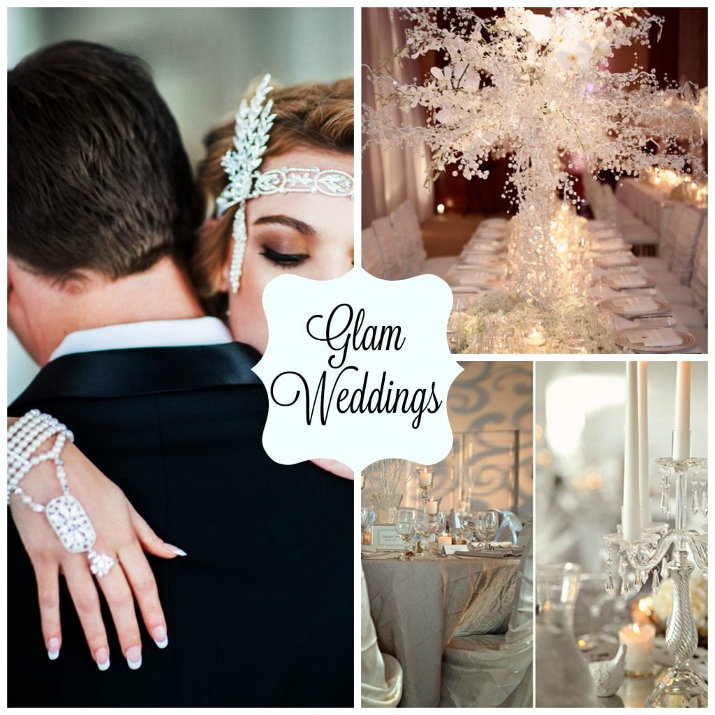 All Out Glam A Top Wedding Theme For Spring 2017 Glamweddings