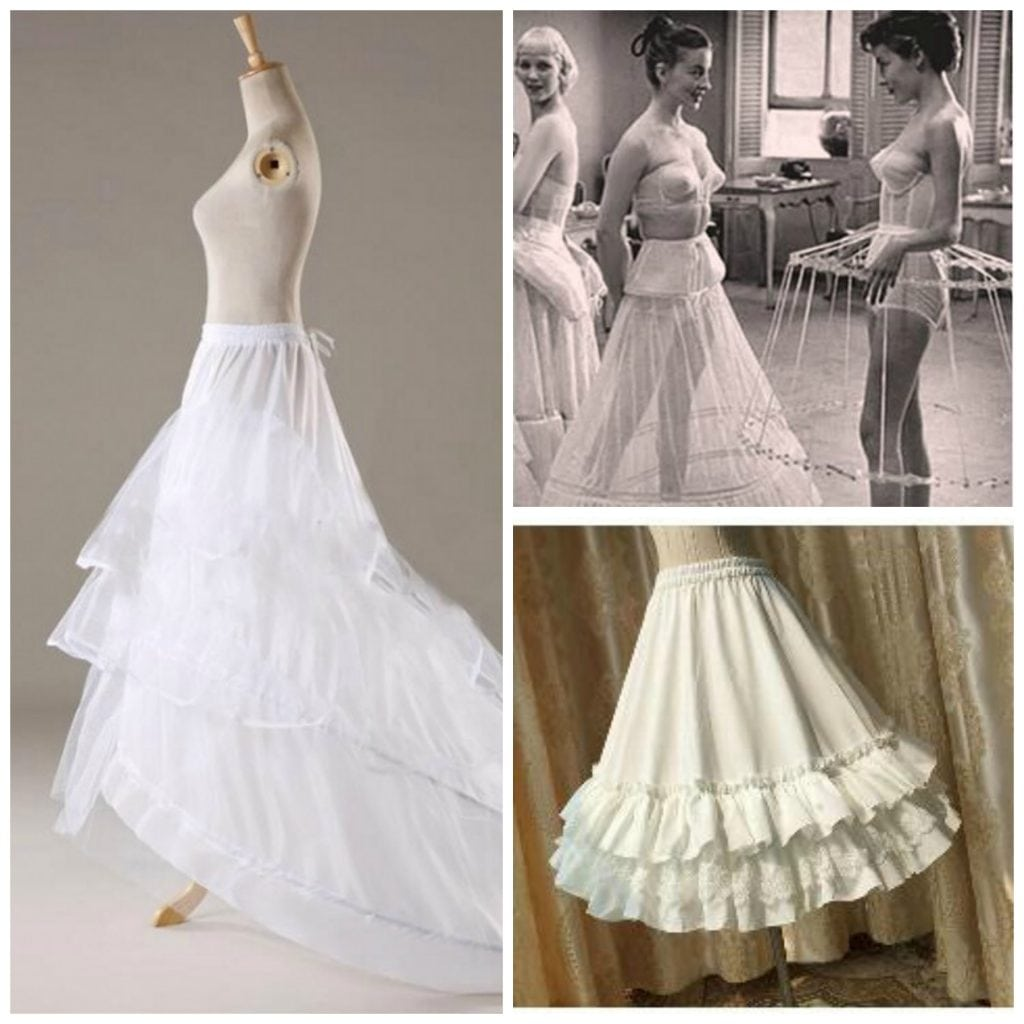 BRIDAL FYI: What the heck is a crinoline? Hoop Skirts, Petticoats ...